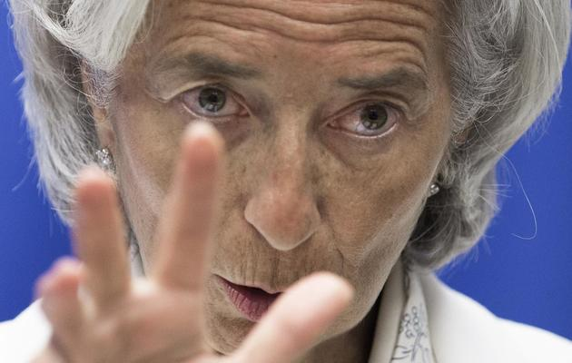 Christine Lagarde, le 4 juin 2013 à Washigton DC [Paul J. Richards / AFP/Archives]