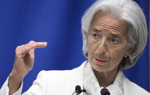 La directrice du FMI Christine Lagarde, le 4 juin 2013 à Washington [Paul J. Richards / AFP/Archives]