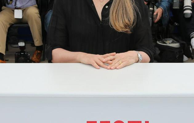 Jane Campion lors de sa présidence du jury des courts-métrages et de la Cinéfondation le 22 mai 2013 au 66e festival de Cannes [Loic Venance / AFP/Archives]