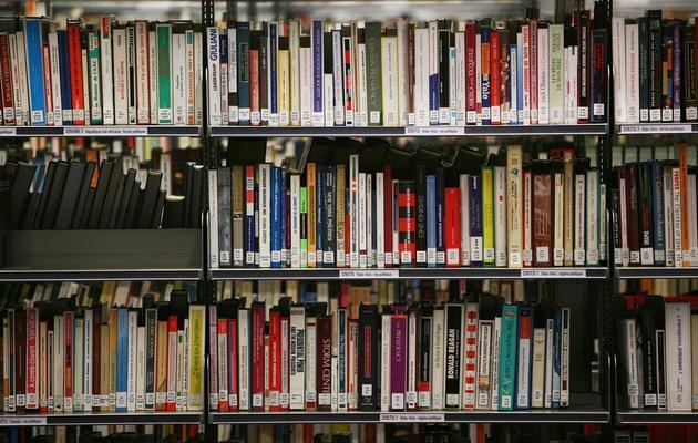 Des livres dans une bibliothèque [Loic Venance / AFP/Archives]