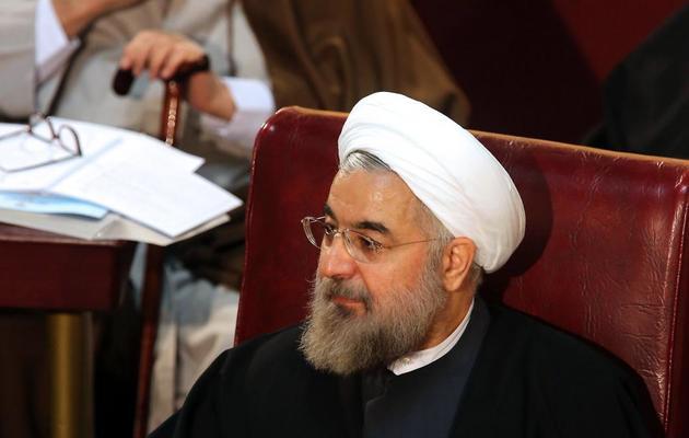 Hassan Rohani, le 5 mars 2013 à Téhéran [Atta Kenare / AFP/Archives]