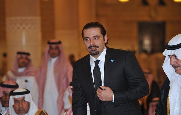 Saad al-Hariri  le 25 octobre 2011 à Ryad [Fayez Nureldine / AFP/Archives]