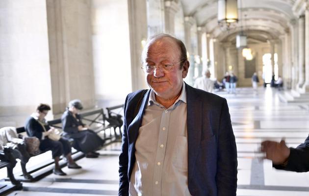 Dominique de Calan, ancien délégué général adjoint de l'UIMM, le 7 octobre 2013 à Paris [Eric Feferberg / AFP/Archives]