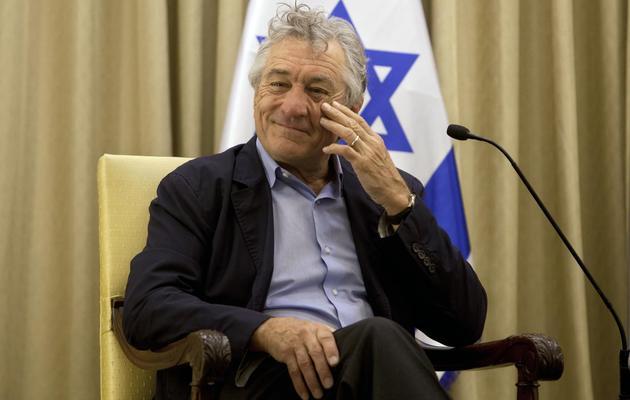 L'acteur américain Robert de Niro, le 18 juin 2013 à Jérusalem [Sebastian Scheiner / Pool/AFP]