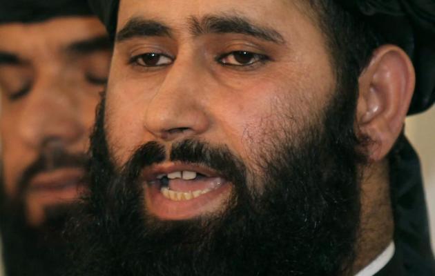 Le porte-parole taliban Mohammed Naim le 18 juin 2013 à Doha [Faisal al-Timimi  / AFP]