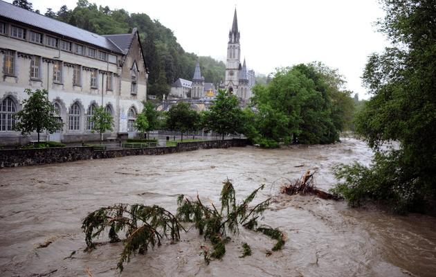 Le Gave de Pau, à Lourdes, le 18 juin 2013  [Pascal Pavani / AFP]
