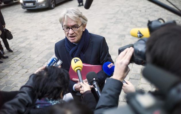 Jean-Claude Mailly le 25 novembre 2013 à Matignon à Paris [Fred Dufour / AFP/Archives]