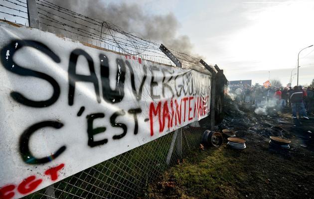 L'usine Goodyear d'Amiens, le 5 décembre 2013, après l'annonce de la fermeture du site [Denis Charlet / AFP]