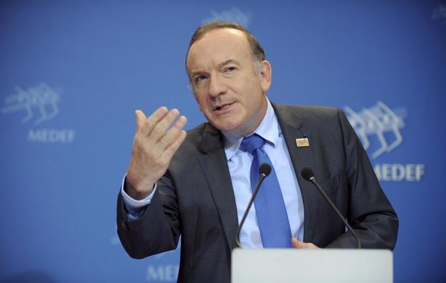 Le patron du Medef Pierre Gattaz le 15 janvier 2014 à Paris  [Eric Piermont / AFP/Archives]