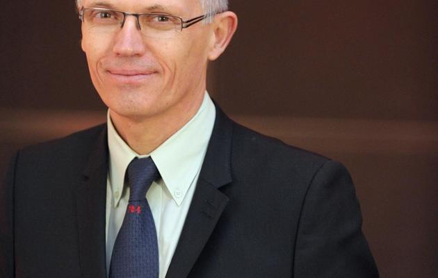 Le nouveau patron de PSA Peugeot Citroën Carlos Tavares, le 26 mars 2014 [Eric Piermont / AFP/Archives]