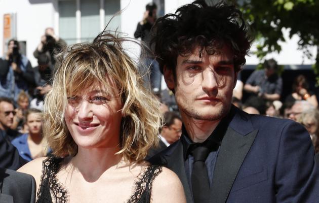 La réalisatrice Valeria Bruni-Tedeschi et l'acteur Louis Garrel, le 20 mai 2013 lors de la montée des marches à Cannes [Valery Hache / AFP]