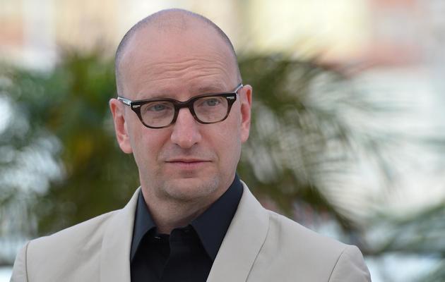 """Le réalisateur Steven Soderbergh, auteur de """"Ma vie avec Liberace"""", le 21 mai 2013 au Festival de Cannes [Alberto Pizzoli / AFP]"""
