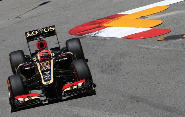Le Finlandais Kimi Räikkönen lors des essais libres du GP de Monaco, le 23 mai 2013 [Alexander Klein / AFP/Archives]