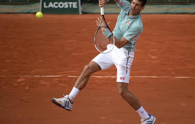Le Serbe Novak Djokovic le 5 juin 2013 à Roland-Garros [Martin Bureau / AFP]