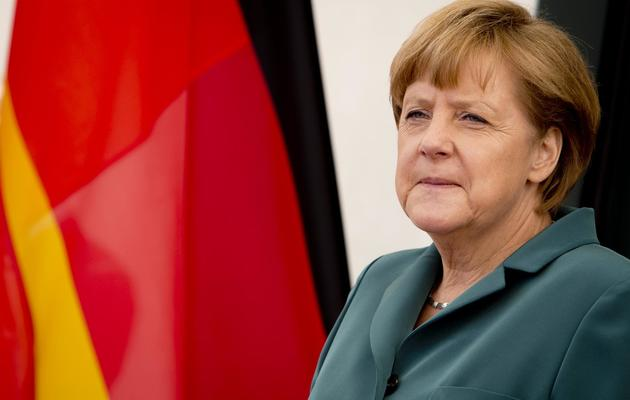 Angela Merkel le 7 juin 2013 à Berlin [Odd Andersen / AFP]