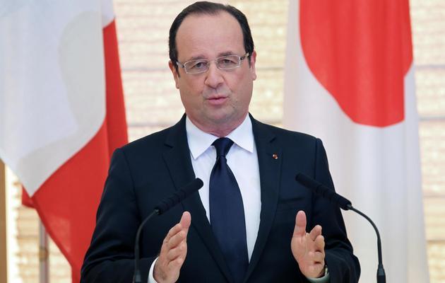 Le président François Hollande le 7 juin 2013 à Tokyo [Junko Kimura / Pool/AFP]