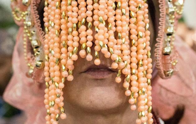 Un disciple du Candomblé lors d'une cérémonie à Sao-paulo, au Brésil, en avril 2013 [Yasuyoshi Chiba / AFP]
