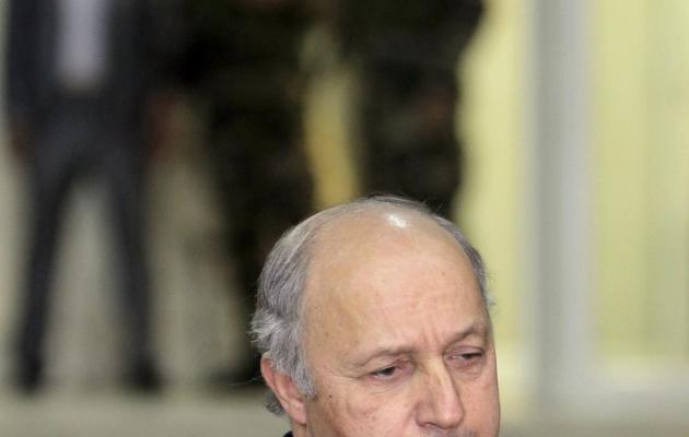 Le ministre des Affaires étrangères Laurent Fabius, à l'Elysée, le 18 novembre 2012 [Abbas Momani / AFP/Archives]