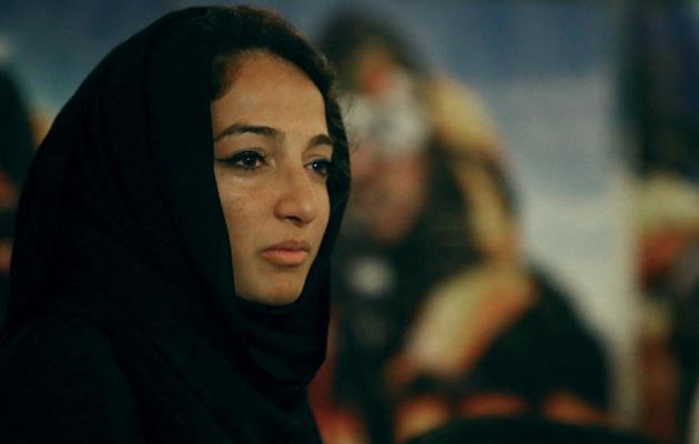 Raha Mouharraq lors d'une conférence de presse le 26 mai 2013 aux Emirats-Unis à son retour du Népal [Marwan Naamani / AFP]