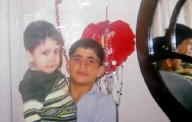Capture d'écran de YouTube d'une photo publiée le 10 juin 2013 par Alep Media Center,  montrant Mohammad Qattaa, l'adolescent tué par des des islamistes radicaux [- / YouTube/AFP/Archives]