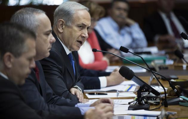 Le Premier ministre israélien Benjamin Netanyahu le 16 juin 2013 à Jérusalem [Uriel Sinai / Pool/AFP]