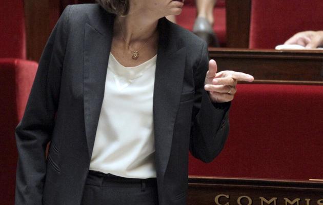 Valérie Pécresse, secrétaire générale déléguée de l'UMP, à l'Assemblée nationale le 27 septembre 2011 [Jacques Demarthon / AFP/Archives]