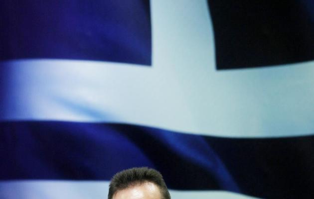 Le ministre grec des Finances Yannis Stournaras en conférence de rpesse à Athènes, le 28 novembre 2012 [Angelos Tzortzinis / AFP/Archives]