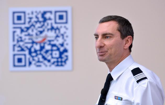 Pascal Garibian, porte-parole de la police nationale française, le 11 décembre 2012 à Paris [Miguel Medina / AFP]