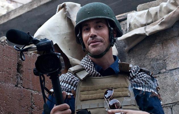 Le journaliste américain James Foley à Alep, le 5 novembre 2012 [Nicole Tung / AFP/Archives]