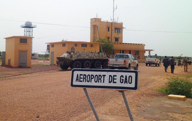 L'aéroport de Gao, au Mali, le 7 août 2012 [Romaric Ollo Hien / AFP/Archives]