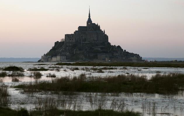 Le Mont Saint-Michel, le 27 avril 2013 [Charly Triballeau / AFP/Archives]