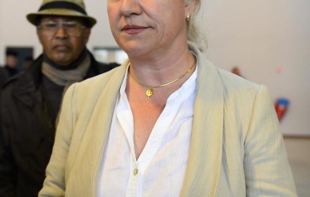 Le pneumologue brestoise Irène Frachon, le 21 mai 2013 à son arrivée au tribunal correctionnel de Nanterre [Lionel Bonaventure / AFP]