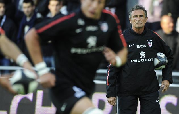 L'entraîneur du Stade toulousain Guy Novès lors de la demi-finale de Top 14 contre Toulon, le 24 mai 2013, à Nantes [Jean-Sebastien Evrard / AFP]