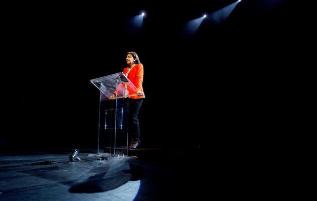 La candidate du PS à la mairie de Paris Anne Hidalgo le 28 mai 2013 à Paris [Joel Saget / AFP]