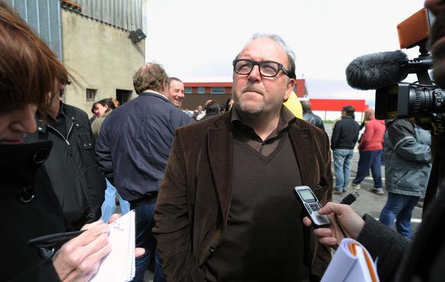 L'avocat des employés de Spanghero, Me Jean-Marc Denjean, le 28 mai 2013 à Castelnaudary (Aude) [Eric Cabanis / AFP]