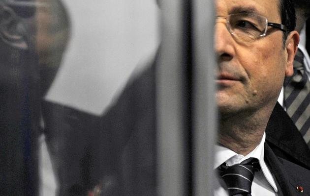 Le président François Hollande à Rodez le 29 mai 2013 [Eric Cabanis / AFP]