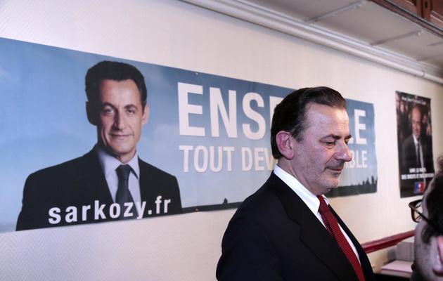 Jean-Francois Legaret le 29 mai 2013 à Paris [Jacques Demarthon / AFP]