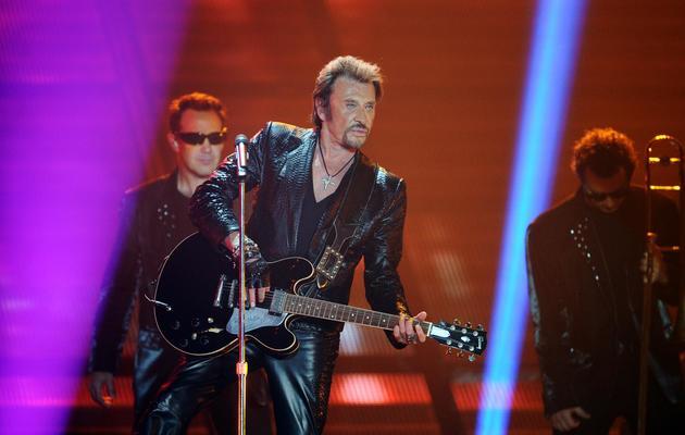 Johnny Hallyday, en concert le 2 juin 2013 à Bordeaux [Nicolas Tucat / AFP]