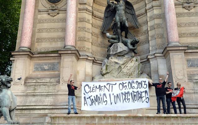 Des manifestants rendent hommage à Clémenty Méric, le 6 juin 2013 à Paris [Pierre Andrieu / AFP]