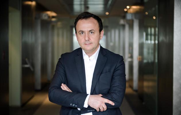Erick Roche, le PDG de Teva Pharma France, le 9 juin 2013 à Paris [Lionel Bonaventure / AFP]