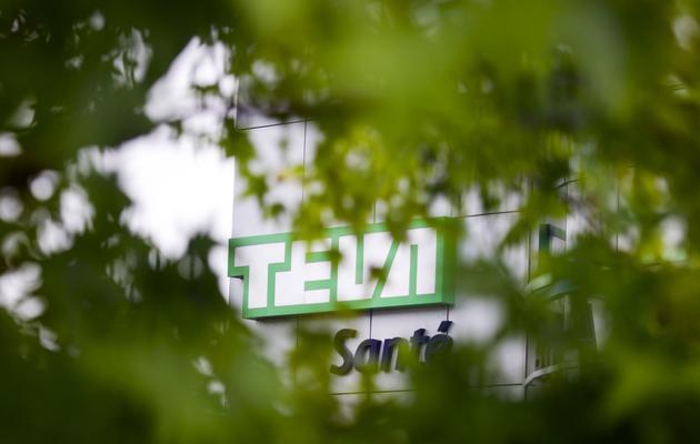 L'usine de production de Teva à Sens (Yonne), le 10 juin 2013 [Fred Dufour / AFP]