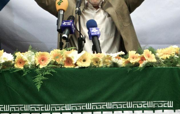 L'ancien candidat iranien réformateur à la présidentielle, Mohammad Reza Aref, le 10 juin 2013 à Téhéran [Behrouz Mehri / AFP]