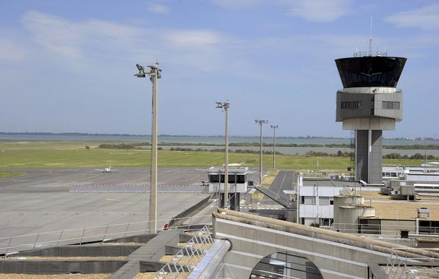 Le tarmac vide de l'aéroport de Montpellier, le 11 juin 2013 [Pascal Guyot / AFP]