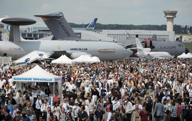 La foule le 24 juin 2011 au salon du Bourget [Eric Piermont / AFP/Archives]