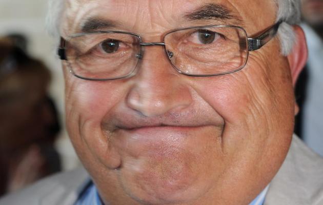 Bernard Barral, le candidat du PS éliminé dès le 1er tour, le 16 juin 2013 à la législative partielle dans le Lot-et-Garonne, fief de Jérôme Cahuzac [Mehdi Fedouach / AFP]