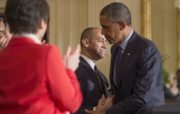Le président américain Barack Obama, le 10 juin 2013 à la Maison Blanche, à Washington [Jim Watson / AFP]