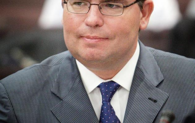 Photo prise le 5 octobre 2007 à Paris de l'inspecteur général des Finances Bruno Bezard [Olivier Laban-Mattei / AFP/Archives]
