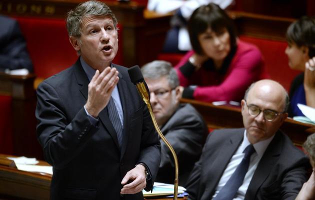 Vincent Peillon le 8 janvier 2014 à l'Assemblée nationale à Paris [Martin Bureau / AFP/Archives]