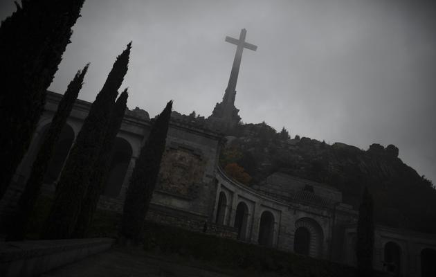La basilique de Valle de los Caidos, où est enterré Franco, le 17 novembre 2012  [Pedro Armestre / AFP/Archives]