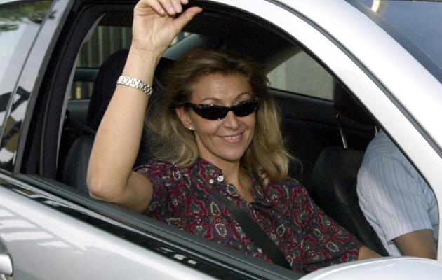 Sophie Gromb le 1er octobre 2004 à Cornebarrieu  [Georges Gobet / AFP/Archives]